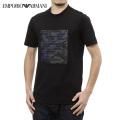 NEW!3/9入荷2021春夏モデル[エンポリオ・アルマーニ]EMPORIO ARMANI Tシャツ(ブラック) EA-383
