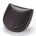 NEW!4/2入荷日本製 馬蹄型コインケース/小銭入れ(ブラウン) EN-002