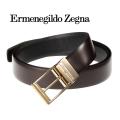 [エルメネジルド・ゼニア]ERMENEGILDO ZEGNA リバーシブルベルト(ピンタイプ) EZ-001