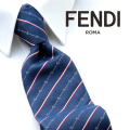 NEW!1/24再入荷2019春夏モデル[フェンディ]FENDI ネクタイ FEJ-639N