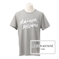 NEW!6/14入荷2019春夏モデル[メゾンキツネ]MAISON KITSUNE Tシャツ(グレー) MK-016