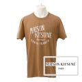 NEW!6/14入荷2019春夏モデル[メゾンキツネ]MAISON KITSUNE Tシャツ(ベージュ) MK-018
