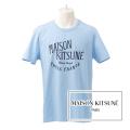 NEW!6/14入荷2019春夏モデル[メゾンキツネ]MAISON KITSUNE Tシャツ(ライトブルー) MK-019