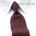 NEW!3/10入荷[ニナリッチ]NINA RICCI ネクタイ NRJ-097