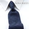 NEW!3/10入荷[ニナリッチ]NINA RICCI ネクタイ NRJ-098