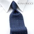 NEW!3/10入荷[ニナリッチ]NINA RICCI ネクタイ NRJ-108