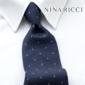 NEW!3/10入荷[ニナリッチ]NINA RICCI ネクタイ NRJ-109