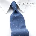 NEW!3/10入荷[ニナリッチ]NINA RICCI ネクタイ NRJ-111