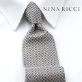 NEW!3/10入荷[ニナリッチ]NINA RICCI ネクタイ NRJ-112