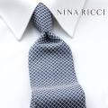 NEW!3/10入荷[ニナリッチ]NINA RICCI ネクタイ NRJ-113