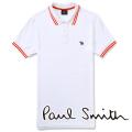 NEW!4/12入荷2019春夏モデル[ポールスミス]PAUL SMITH ポロシャツ(ホワイト) PS-624
