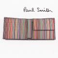 NEW!3/24入荷2021春夏モデル[ポールスミス]PAUL SMITH 二つ折り財布(小銭入れ付き) PS-702