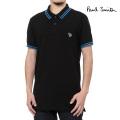 NEW!4/14/入荷2021春夏モデル[ポールスミス]PAUL SMITH ポロシャツ(ブラック) PS-710