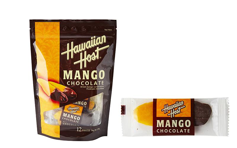 【Hawaiian Host】ハワイアンホースト ドライマンゴーチョコレート(12袋)