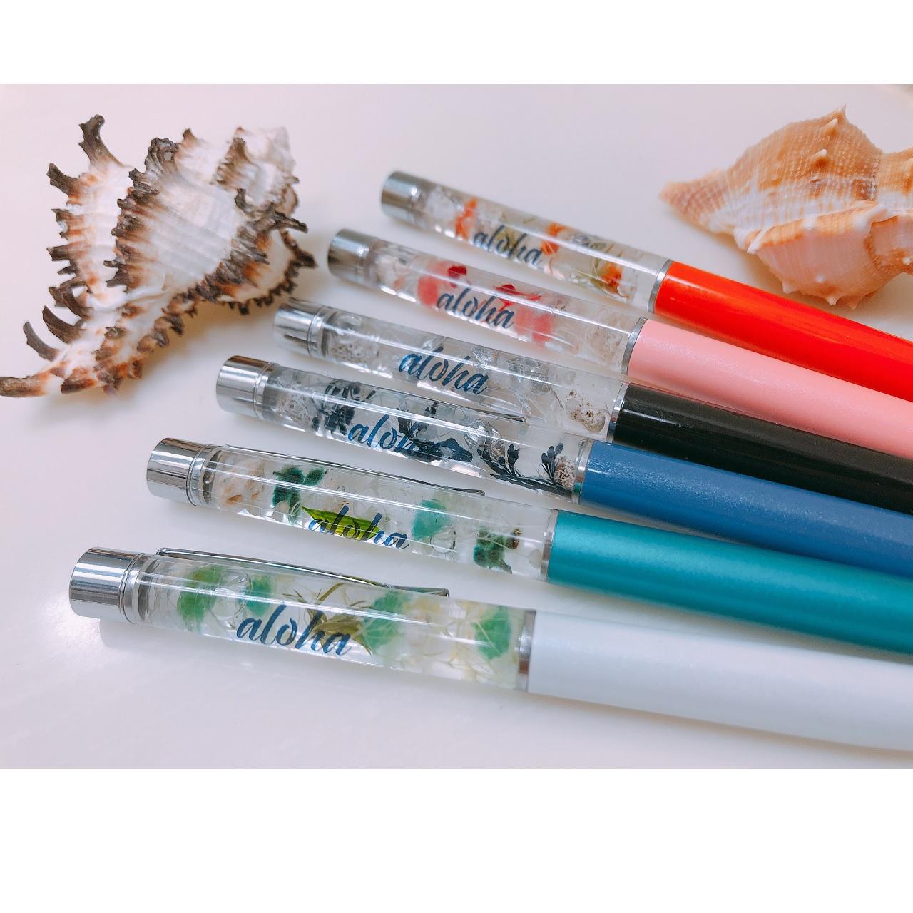 【Sandy Kona】ハーバリウムボールペン
