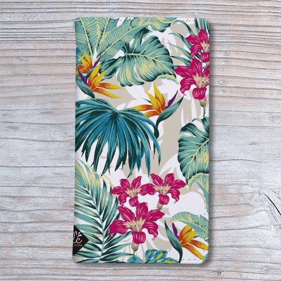 手帳型スマホケース 全機種対応(Botanical Hawaii)SimpleVer.【メール便OK】