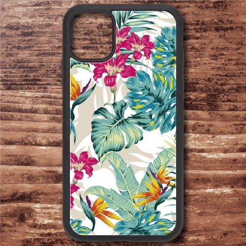 スマホケース アクリルケース iPhone 12シリーズ対応(Botanical Hawaii)【メール便OK】