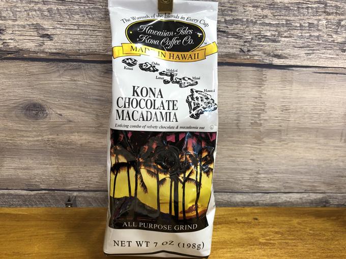 【Hawaiian Isles Kona Coffee 】ハワイアンアイルズコナコーヒー コナチョコレートマカダミアナッツ 198g (10%コナブレンド)