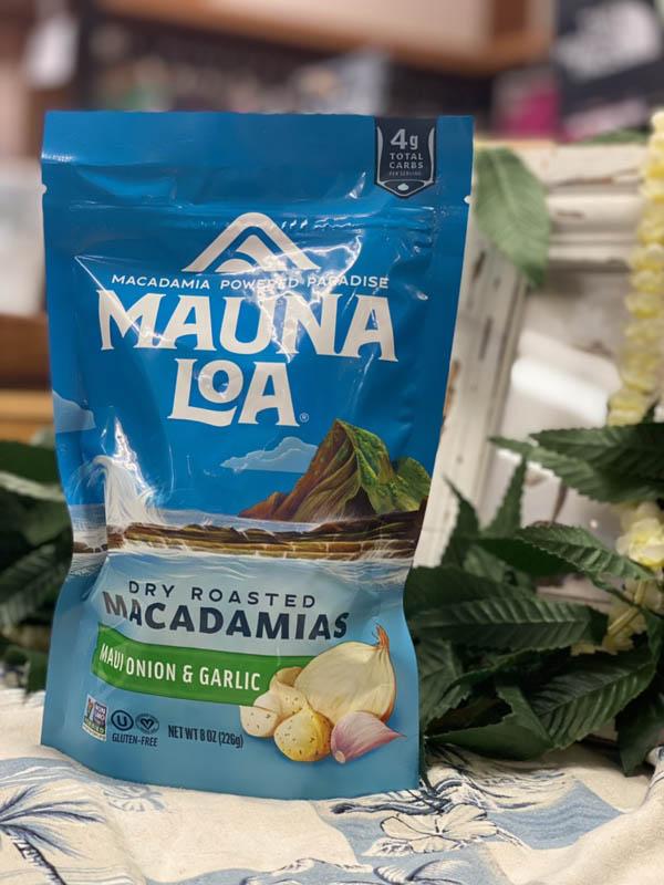 【MAUNA LOA】マウナロア マウイオニオン&ガーリックマカデミアナッツ226g