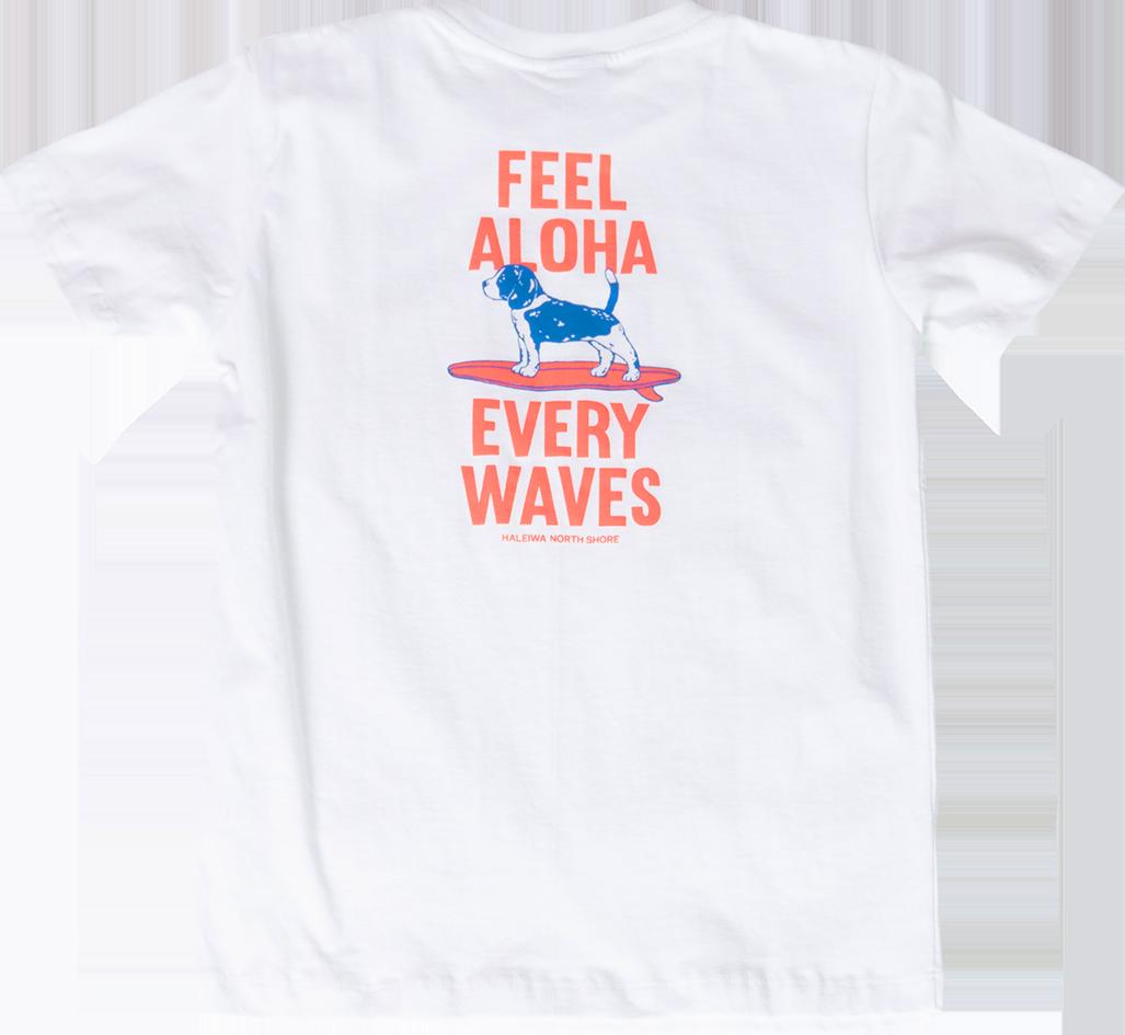 ハレイワTシャツ (メンズ/ホワイト)