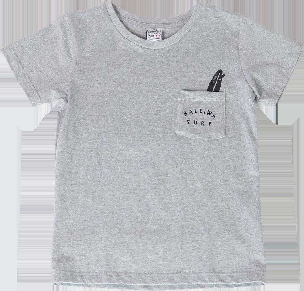 ハレイワTシャツ (レディース/グレー)