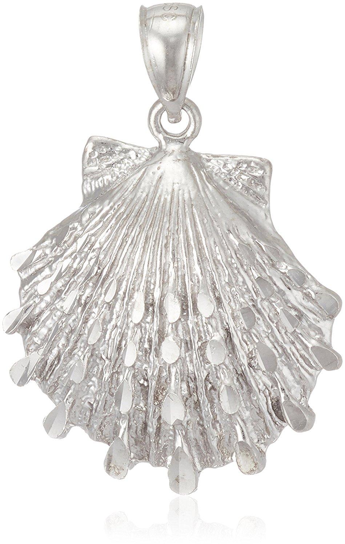 【メール便発送OK】 ハワイアンジュエリー ペンダント Top ネックレス シルバー 925 マザーオブパール 貝 貝殻 shell (チェーン別売) プレゼント かわいい キュート 【Southern Blue】
