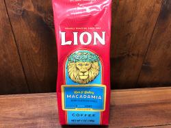 【LION COFFEE】 ライオンコーヒーマカダミア フレーバー198g