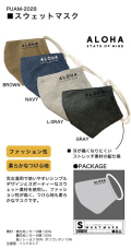 スウェットマスク 男女兼用( 大人用)【メーカー正規販売店】【10枚までメール便配送可】