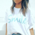 【Smile】Smile Tシャツ ビッグホワイト