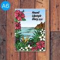 【HLC】ハワイ手帳ミニ2020(TAMO)A6版【1冊購入メール便可】