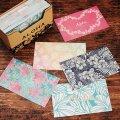 ハワイミニメッセージカード 120枚セット(Tropical Flowers)