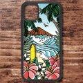 スマホケース アクリルケース iPhone 12シリーズ対応(Waikiki Rainbow)【メール便OK】