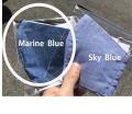 洗えるマスク!待望の布マスク インディゴガーゼマスク 3層構造  立体マスク型マリンブルー Marine Blue【5/7以降順次発送予定】【メーカー正規販売店】【10枚までメール便配送可】
