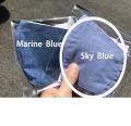洗えるマスク!待望の布マスク インディゴガーゼマスク 3層構造  立体マスク型スカイブルー Sky Blue【5/7以降順次発送予定】【メーカー正規販売店】【10枚までメール便配送可】