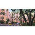キャンバスパネル絵 PUKR-1704 ピンクパレス