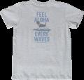 ハレイワTシャツ (メンズ/グレー)