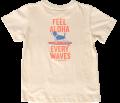 ハレイワTシャツ (メンズ/ベージュ)