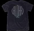 ハレイワTシャツ (メンズ/ブラック)