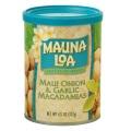 【MAUNA LOA】マウナロア マウイオニオン&ガーリックマカデミアナッツ缶 127g(ml-002)