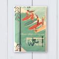 ハワイ手帳ミニ2018カバーNick1