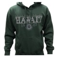 ハワイ大学オリジナルパーカー(グリーン)【送料無料!】