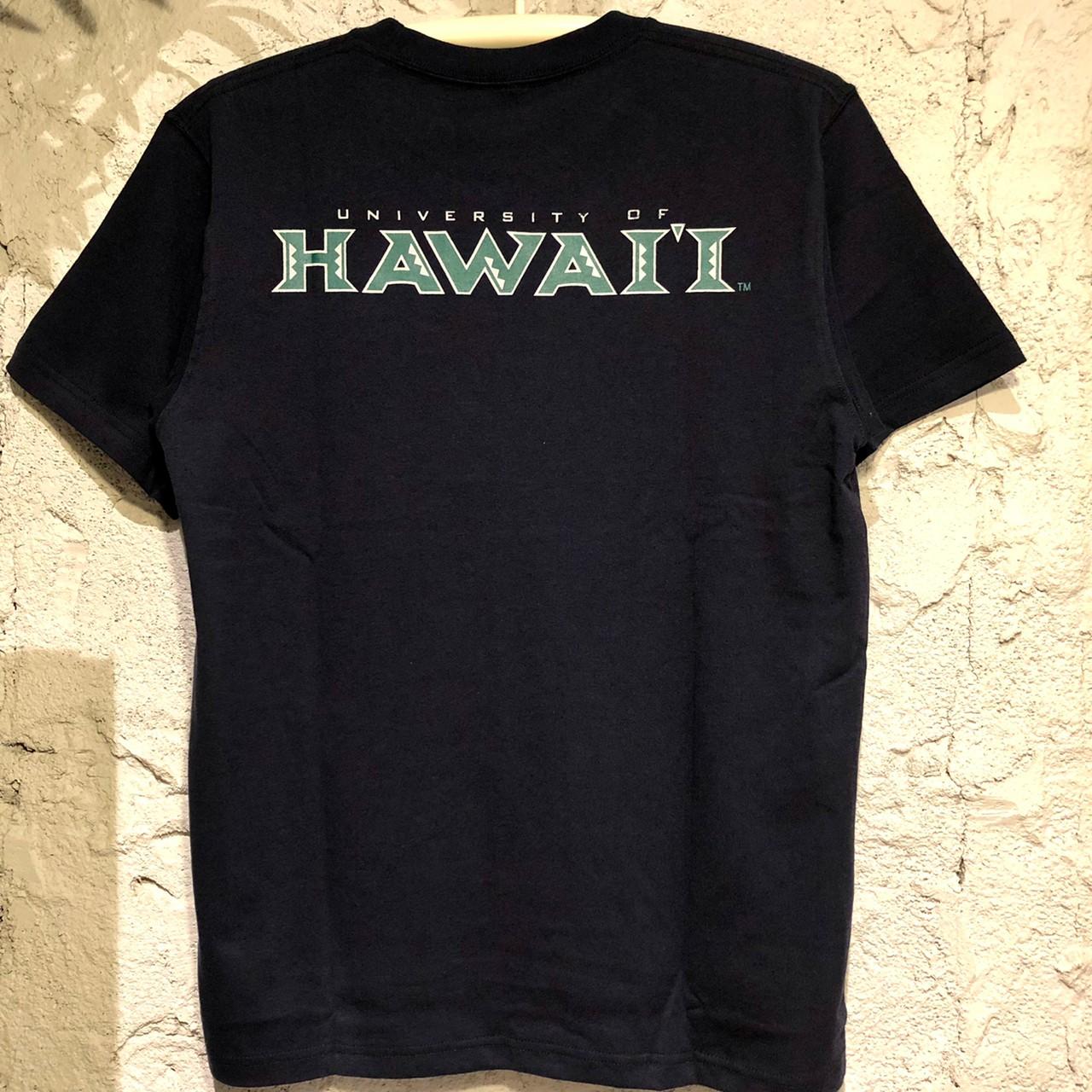 Hawaii大学ロゴTシャツ【アロハラバーズ】