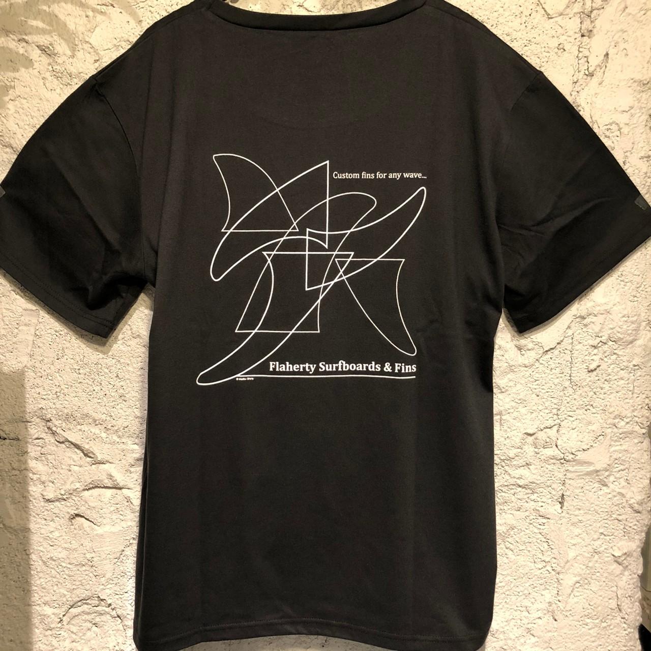 マリブフィンパターン半袖Tee/BK