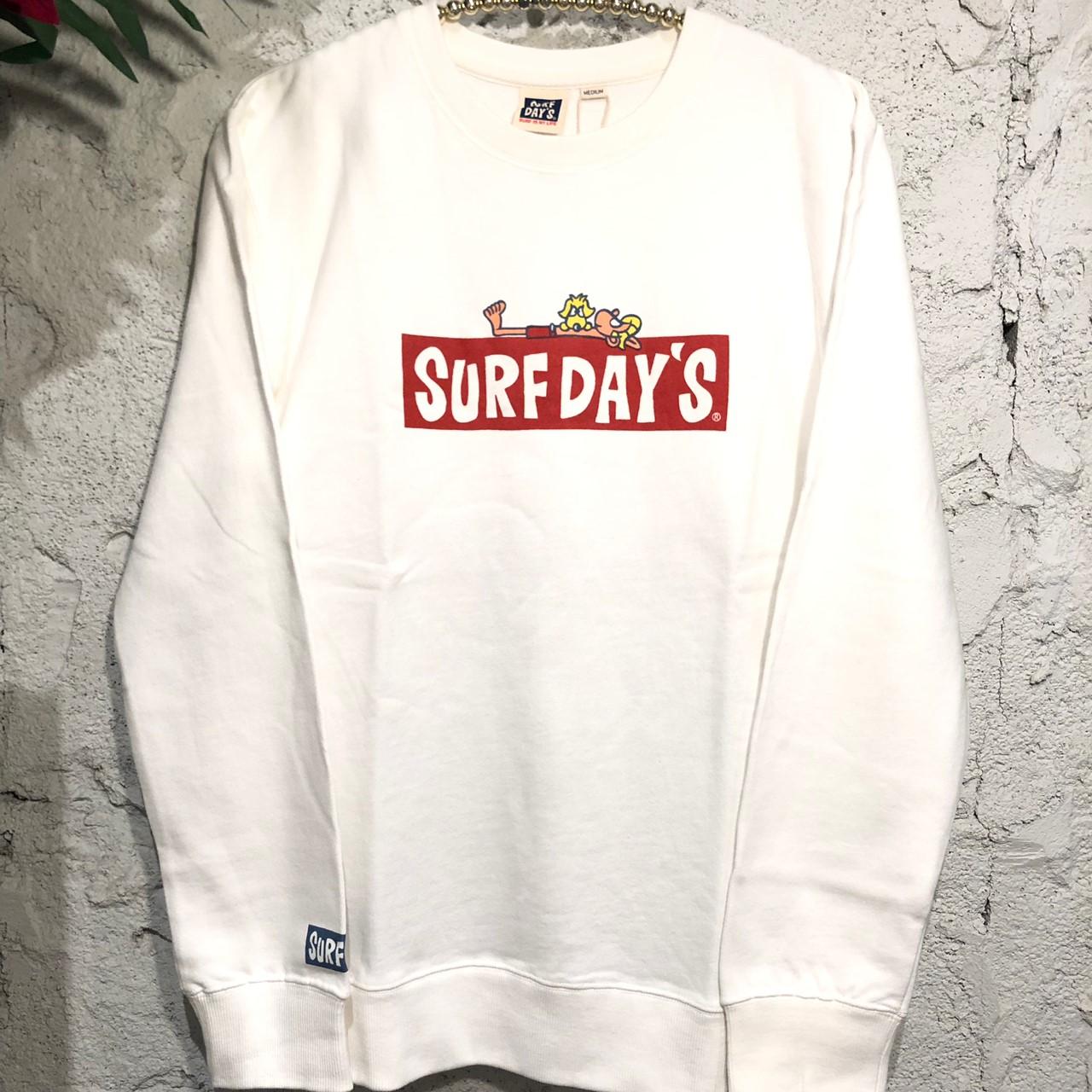 【SURF DAY'S】メンズトレーナー/M/L/