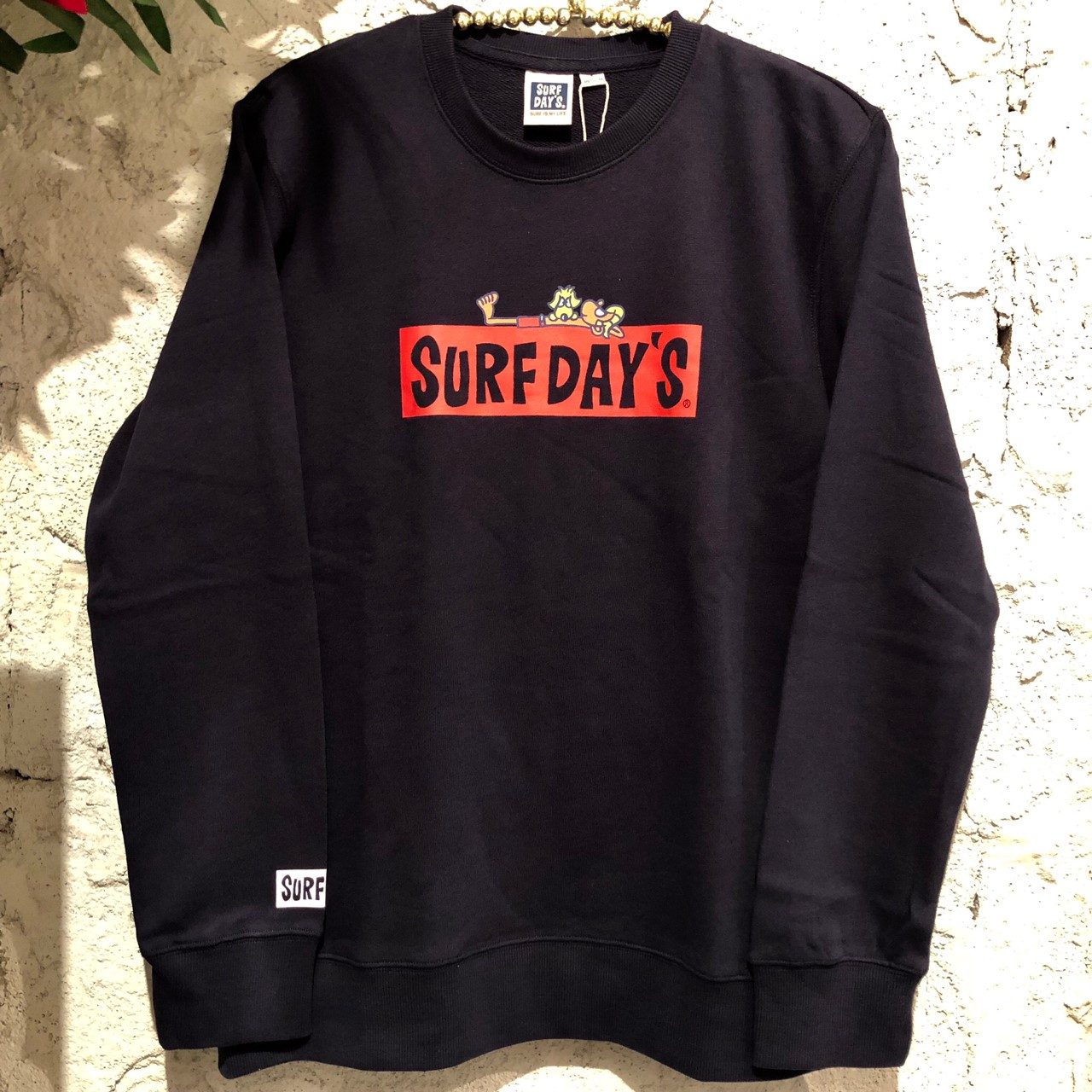 【SURF DAY'S】メンズトレーナーNVY/M/L/