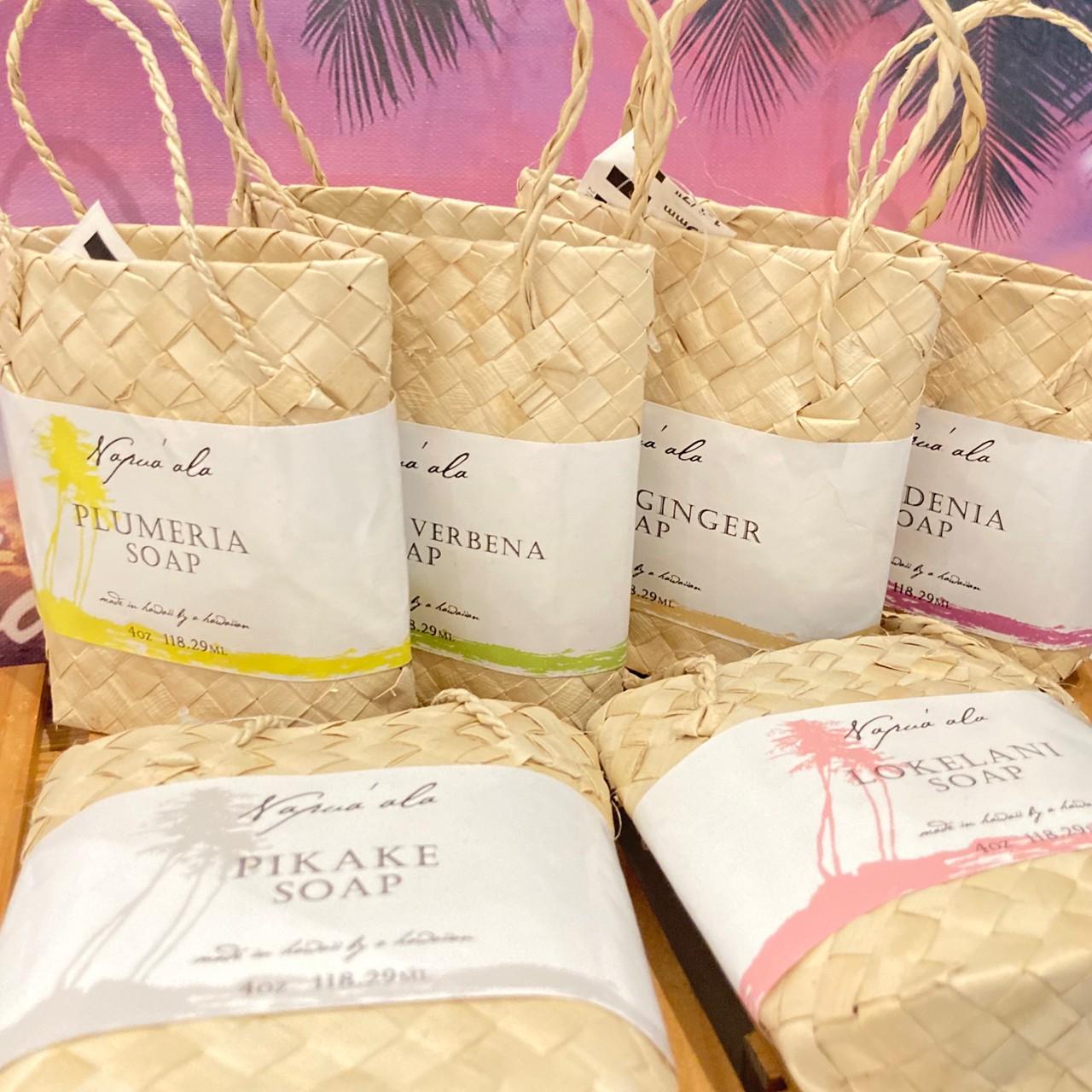 ■ナプアアラ、ラウハラケース入り石鹸/香りをお選びください