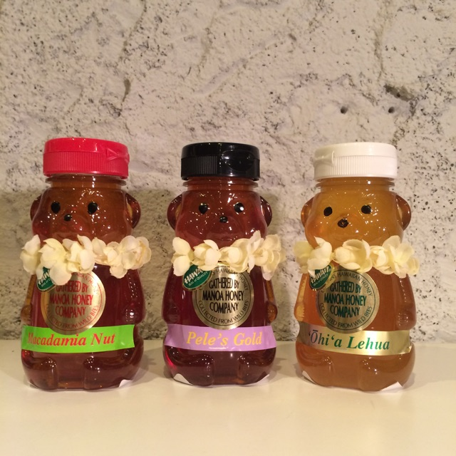 Hawaii Manoa HoneyくまちゃんLサイズ/ 3種類