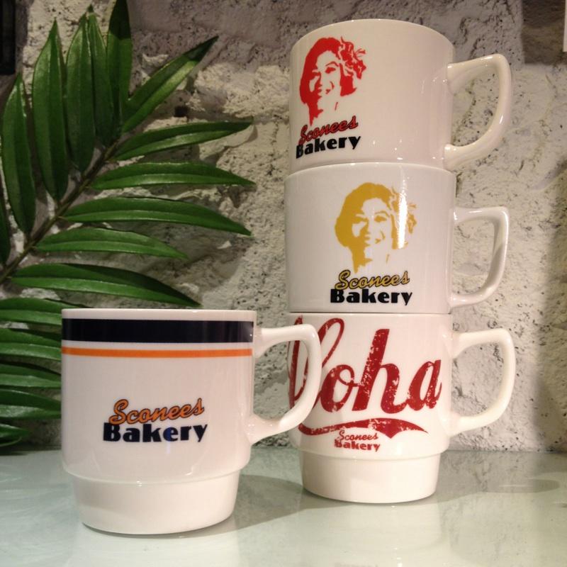 Sconees Bakery スタッキングマグ(4種類)