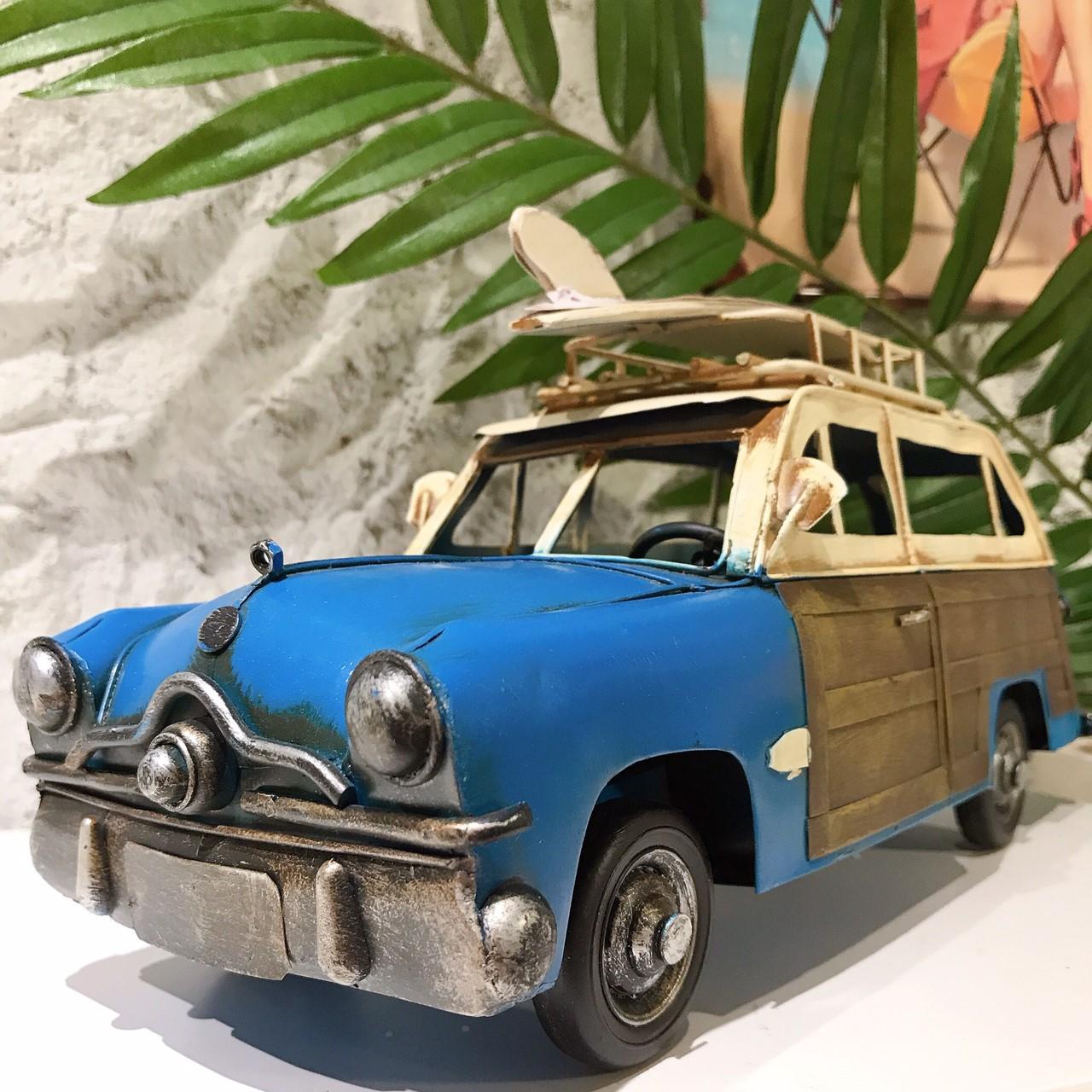 ヴィンテージカー[ウッディワゴン]【ハワイアン雑貨】