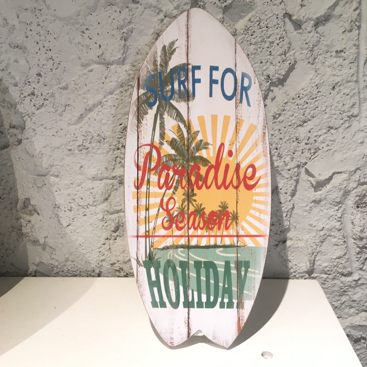 サーフボード[スタンド&ウォールプレート03【ハワイアンインテリア】